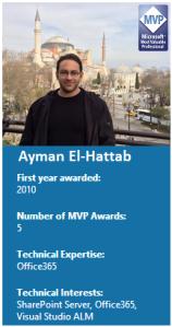 Ayman El-Hattab MVP